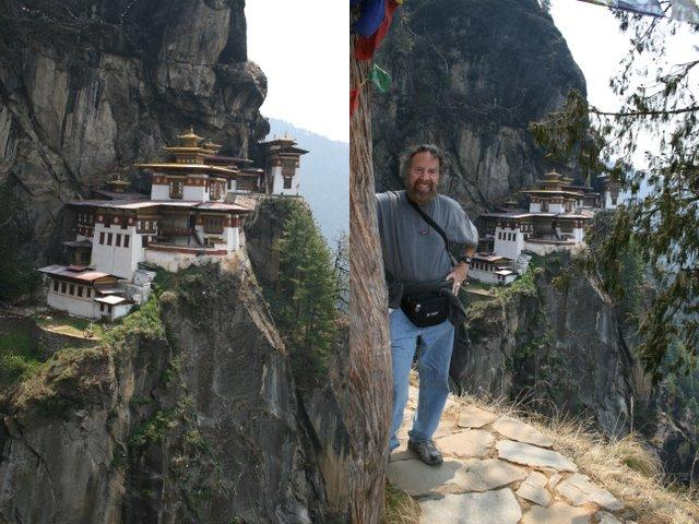 JMG at the Tiger's Nest