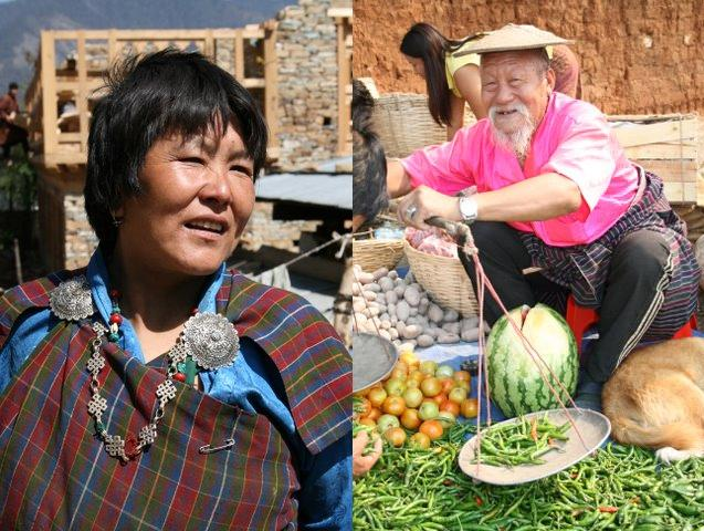 woman with traditional jewelry and Pick a Pack of Peppers