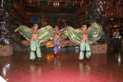 colorful dancing-folklore show